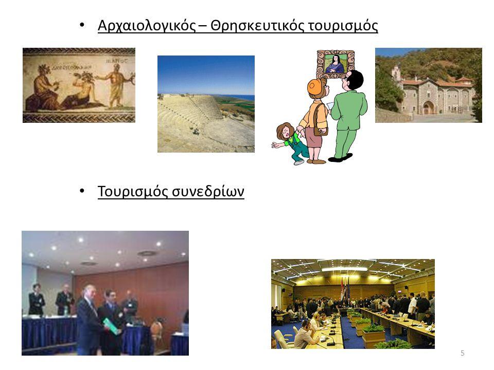Αρχαιολογικός – Θρησκευτικός τουρισμός Τουρισμός συνεδρίων 5