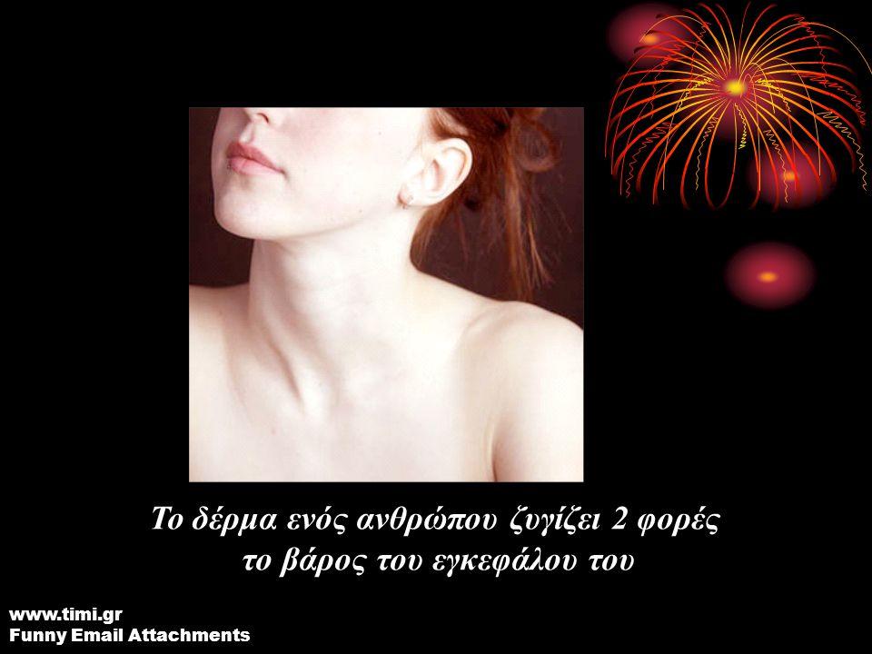 Οι γυναίκες ανοιγοκλείνουν τα μάτια διπλάσιες φορές από τους άντρες Υπάρχουν περίπου 1 εκατομμύριο βακτήρια σε κάθε πόδι www.timi.gr Funny Email Attachments