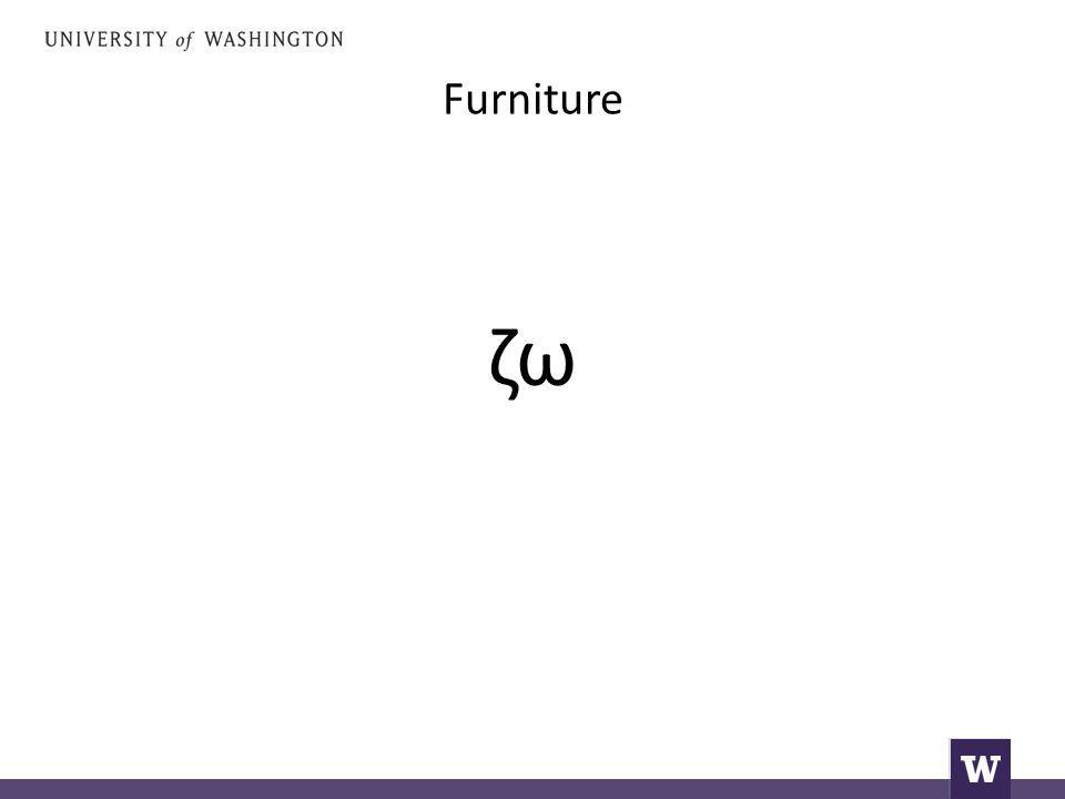 Furniture ζω