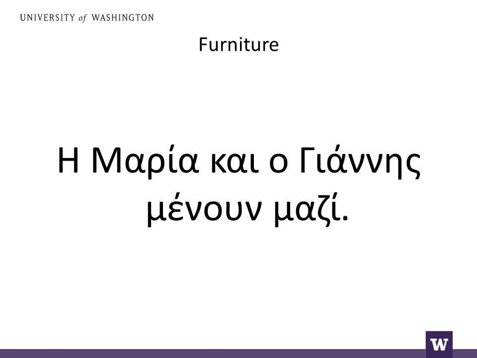 Furniture Do you remember how to say furniture ?