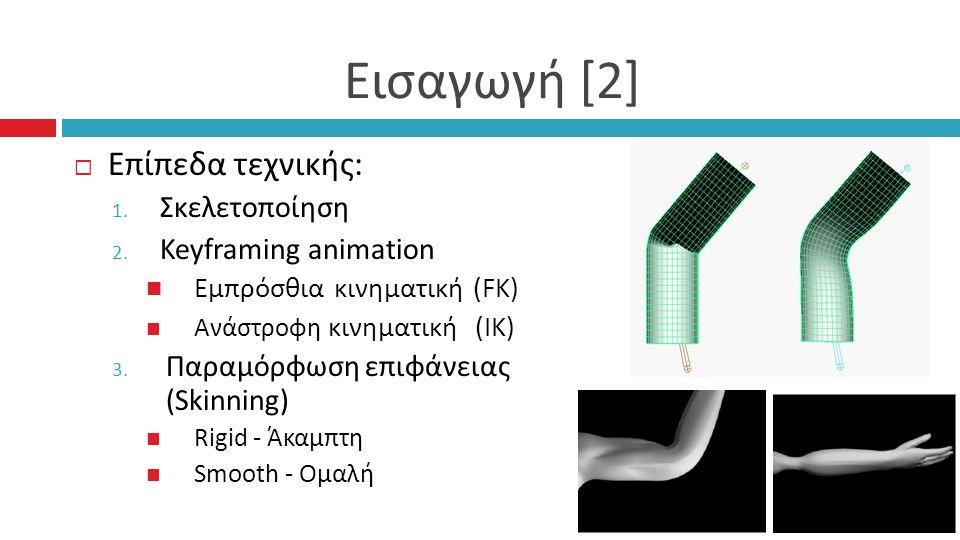 Εισαγωγή [2]  Επίπεδα τεχνικής : 1. Σκελετοποίηση 2.