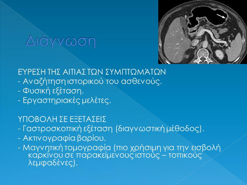 ΕΝΤΟΠΙΣΜΟΣ ΑΝΩΜΑΛΟΥ ΙΣΤΟΥ ΣΕ ΓΑΣΤΡΟΣΚΟΠΙΚΗ ΕΞΕΤΑΣΗ 1η μέθοδος - Ανάλυση από χειρούργο ή γαστρεντερολόγο.