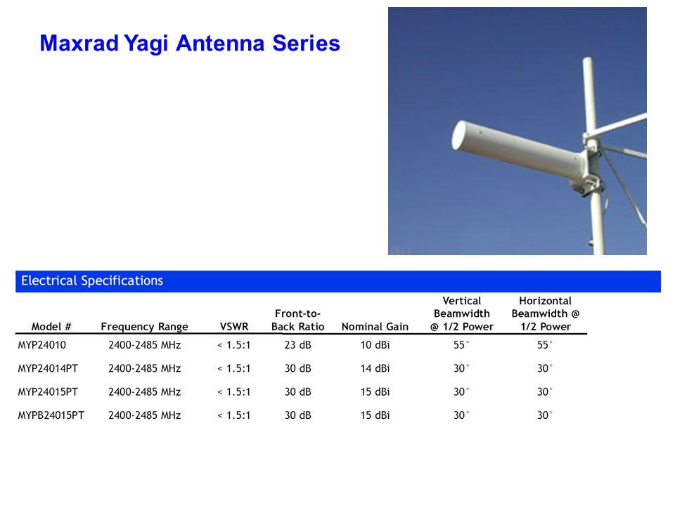 Maxrad Yagi Antenna Series