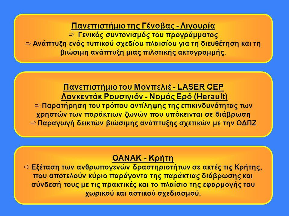 Πανεπιστήμιο του Μονπελιέ - LASER CEP Λανκεντόκ Ρουσιγιόν - Νομός Ερό (Herault)  Παρατήρηση του τρόπου αντίληψης της επικινδυνότητας των χρηστών των