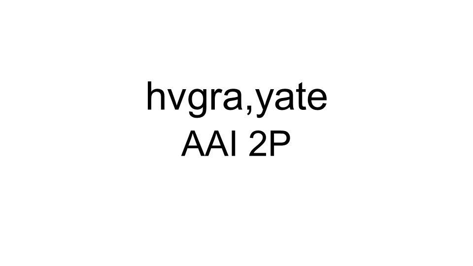AAI 2P hvgra,yate