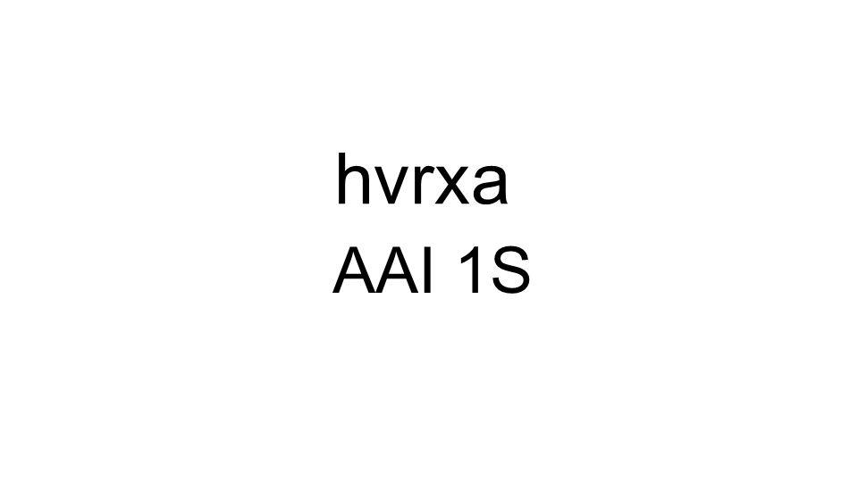 AAI 1S hvrxa