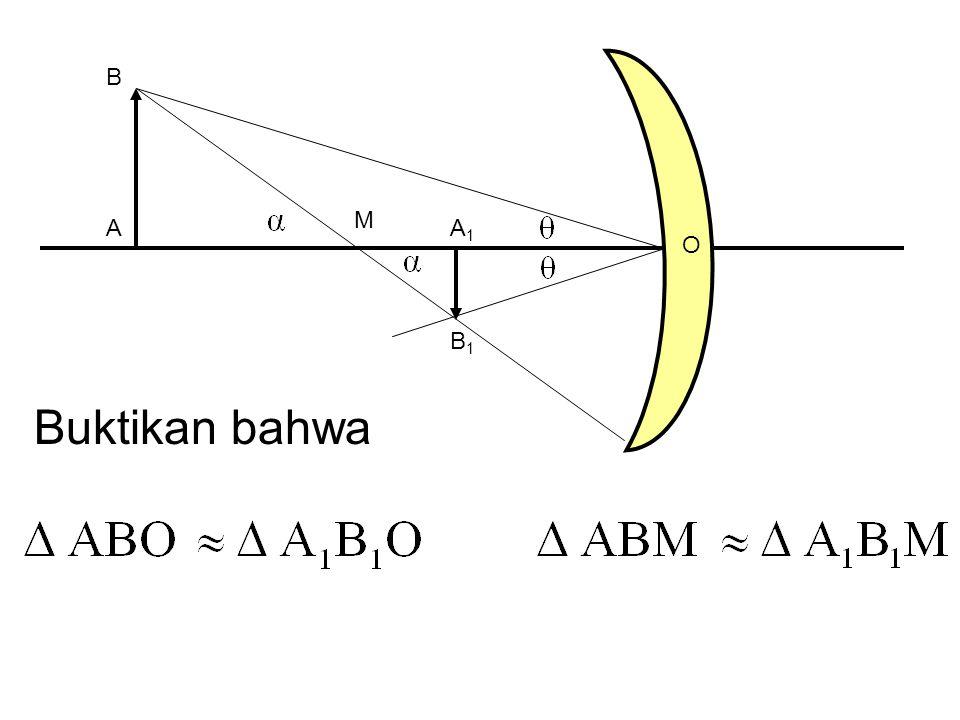 M A B A1A1 B1B1 O Buktikan bahwa