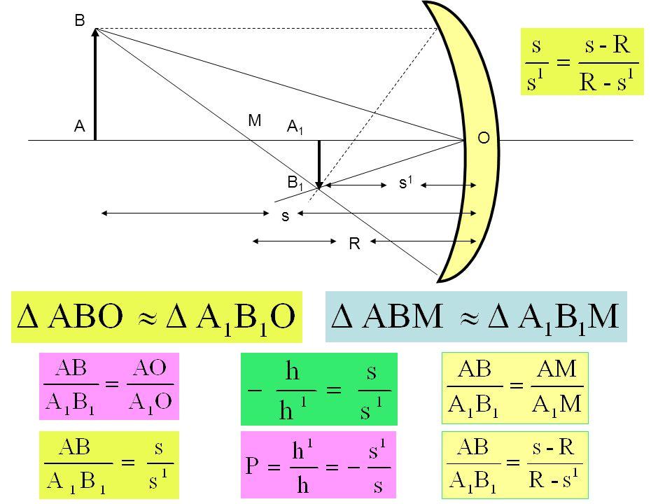 M A B A1A1 B1B1 R s s1s1 O