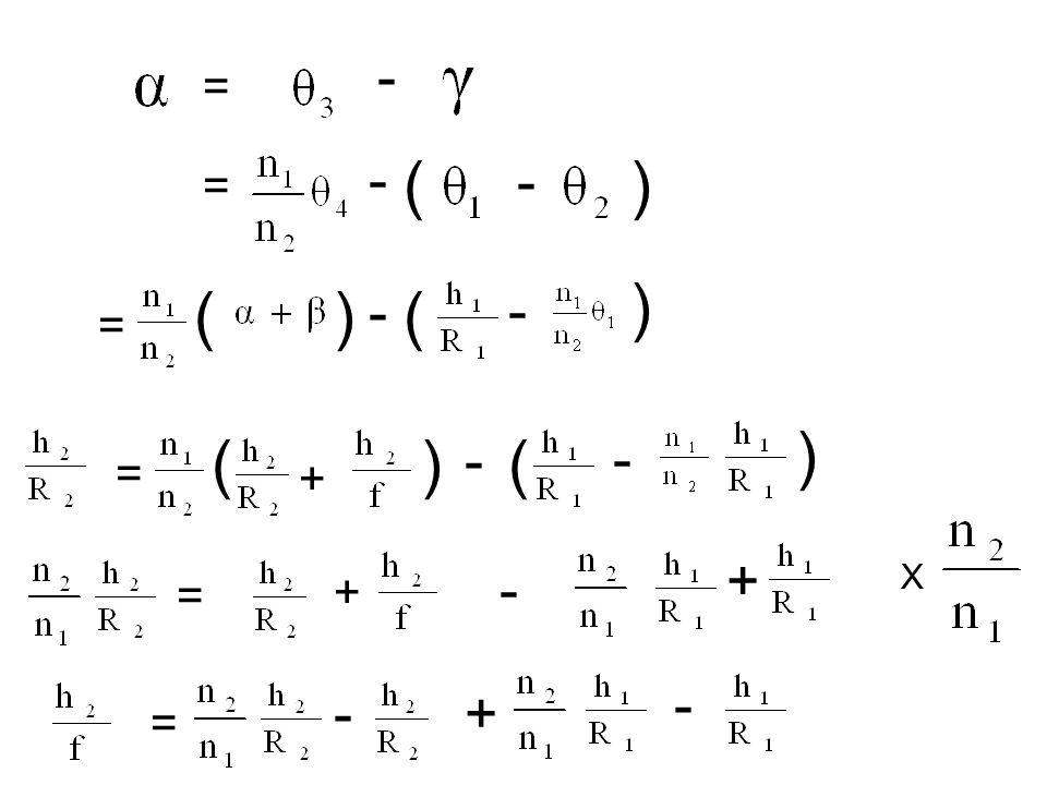 - = ( - ) = ( - ) = () ( - ) = () + + = + - = - - - - X +-