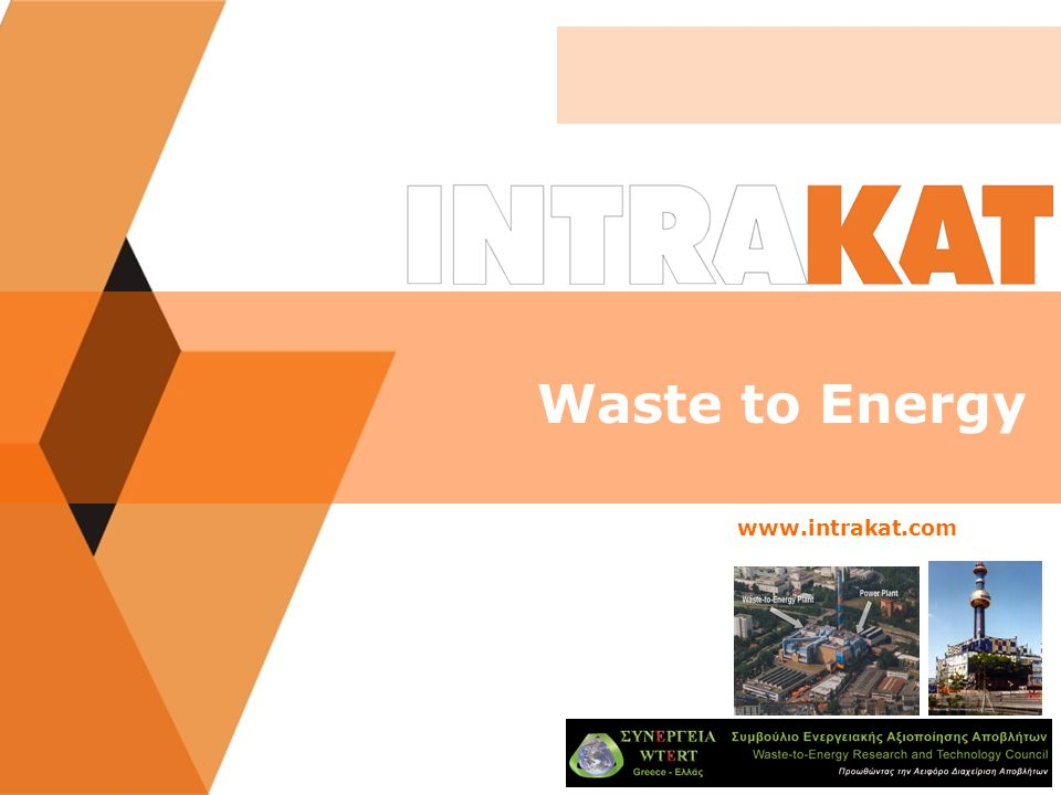 WASTE TO ENERGY SOLUTION FOR MUNICIPAL SOLID WASTE/WTE