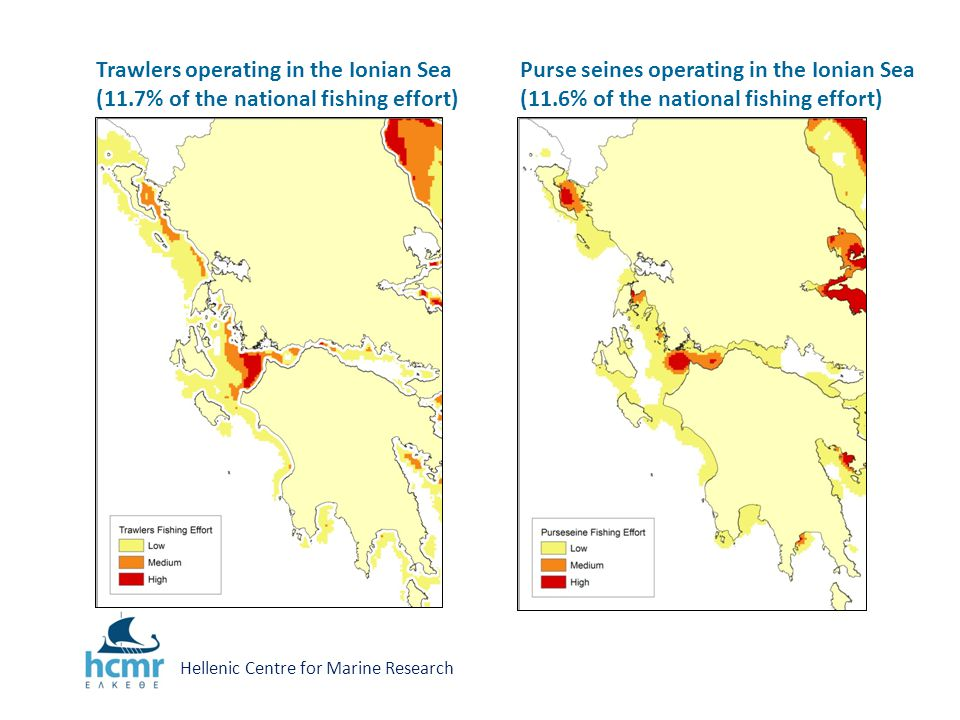 Deep water fishery Spatial distribution of red shrimps (Aristaeomorpha foliacea, Aristeus antennatus) in the Ionian Sea