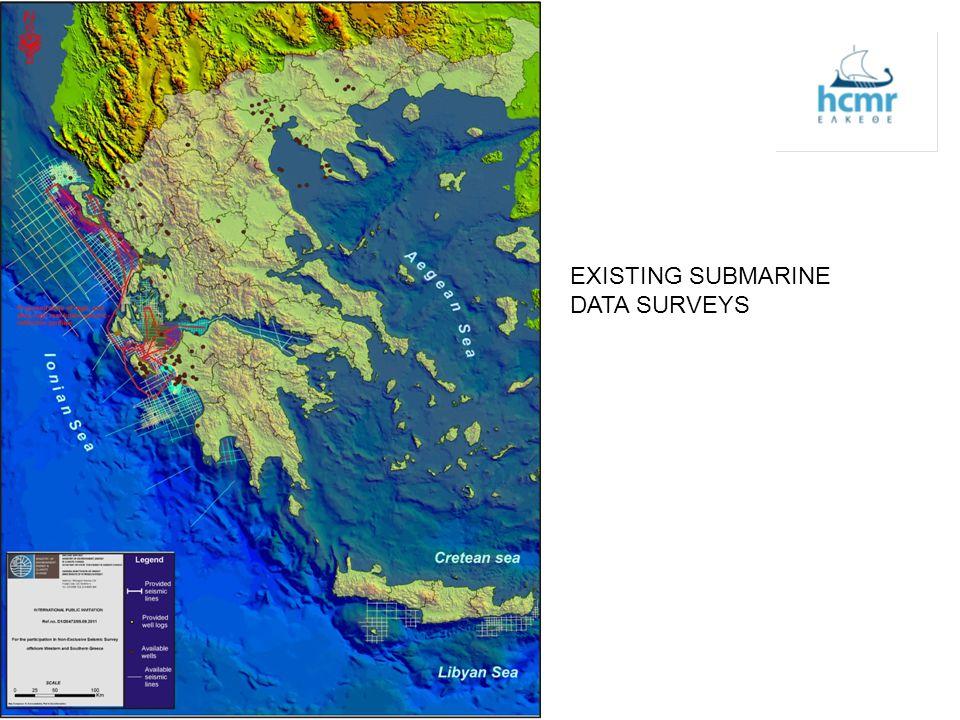 AREAS OF SEISMIC SURVEY