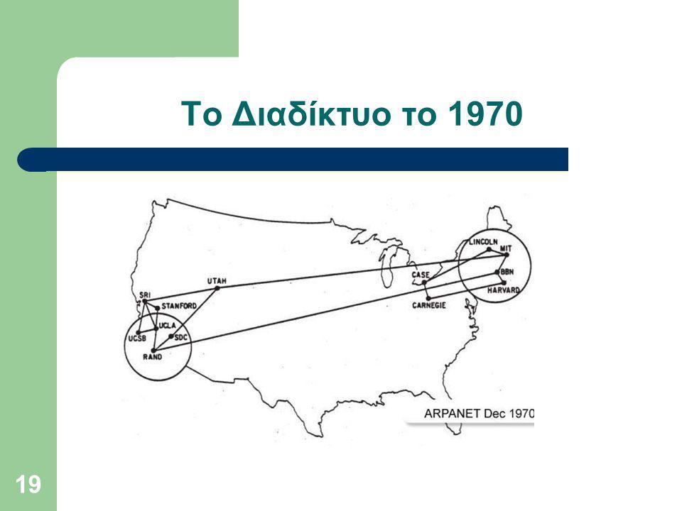 Το Διαδίκτυο το 1970 19