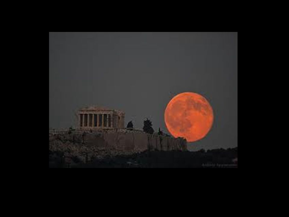The Moon of the Greeks