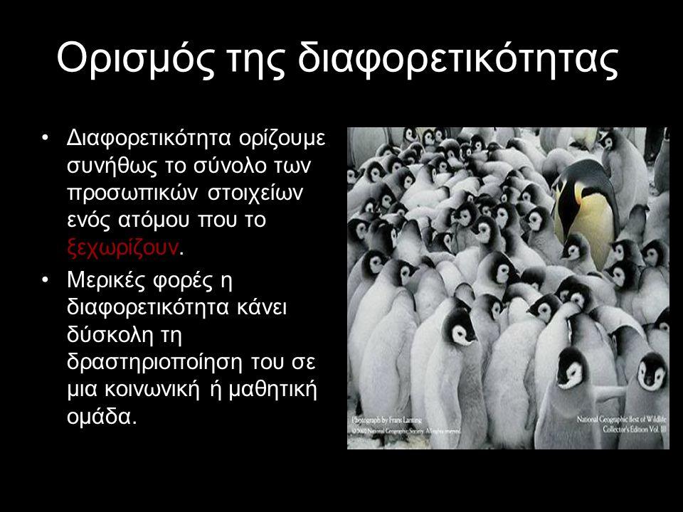 Σέβομαι τη διαφορετικότητα Ομάδα: «Διαφορετικές φωνές» Επιμέλεια: Αρζομανίδης Νικόλαος Βαβλιάκης Κωνσταντίνος Κόκκοβα Βεατρίκη Κουκούλης Αθανάσιος Ξηρ