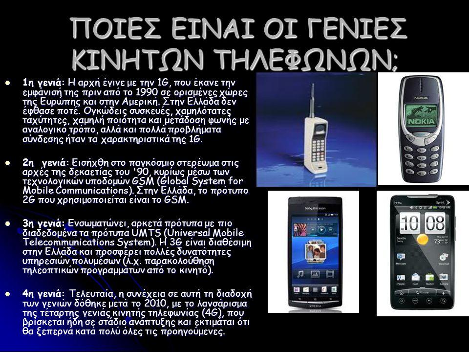 ΚΩΝΣΤΑΝΤΙΝΟΣ ΣΤΡΑΤΗΣ ΔΗΜΗΤΡΙΟΣ ΣΤΡΑΤΗΣ ΔΗΜΗΤΡΙΟΣ ΣΤΡΑΤΗΣ Το κινητό τηλέφωνο έχει πια γίνει κομμάτι της καθημερινότητάς μας.