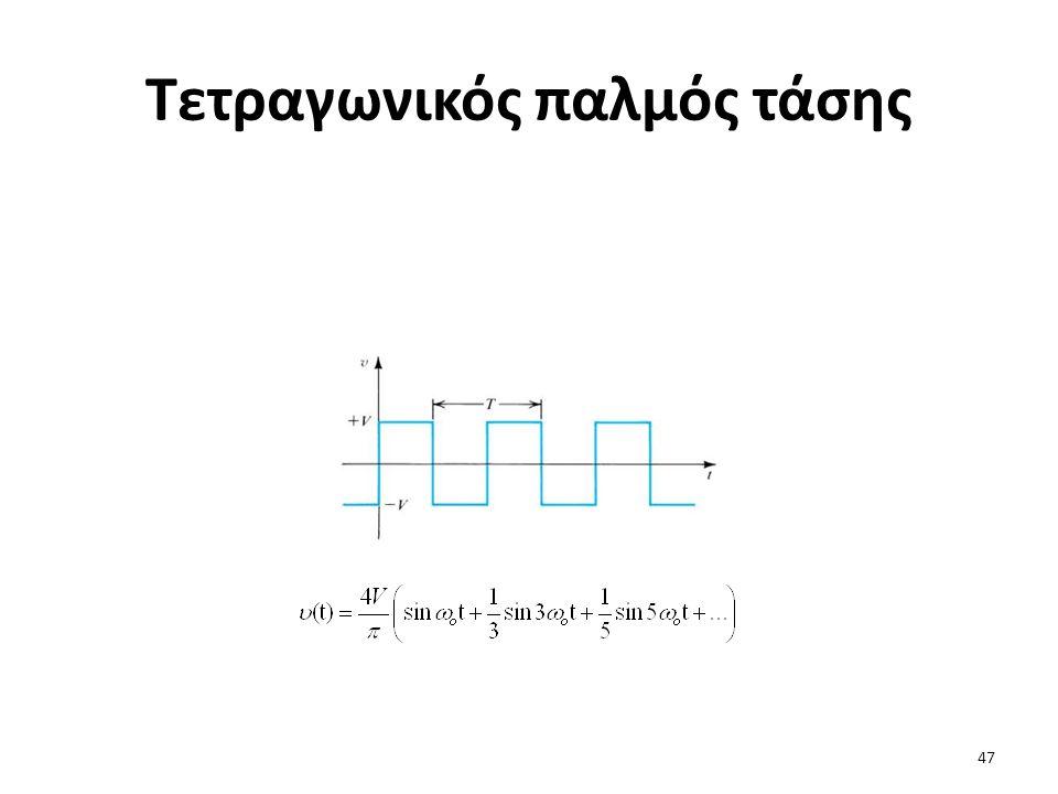 Τετραγωνικός παλμός τάσης 47