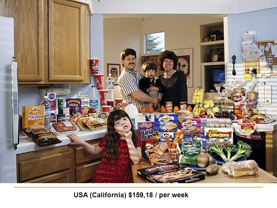 USA (California) $159,18 / per week