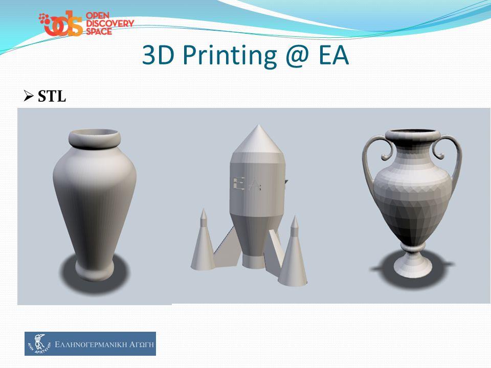 3D Printing @ ΕΑ  STL