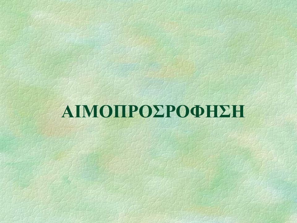 ΑΙΜΟΠΡΟΣΡΟΦΗΣΗ