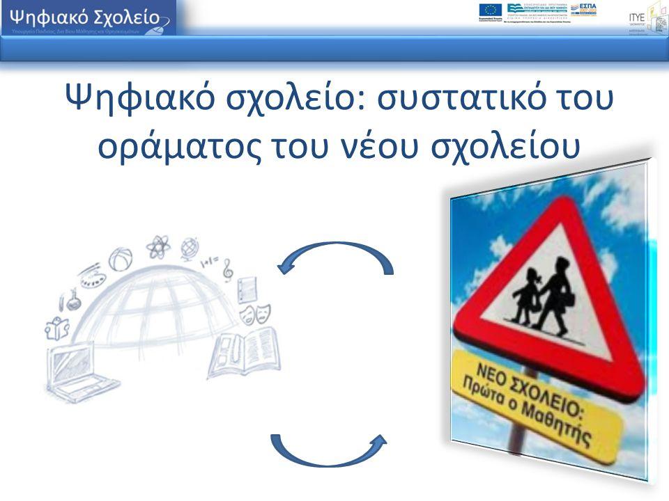 Ψηφιακό σχολείο: συστατικό του οράματος του νέου σχολείου