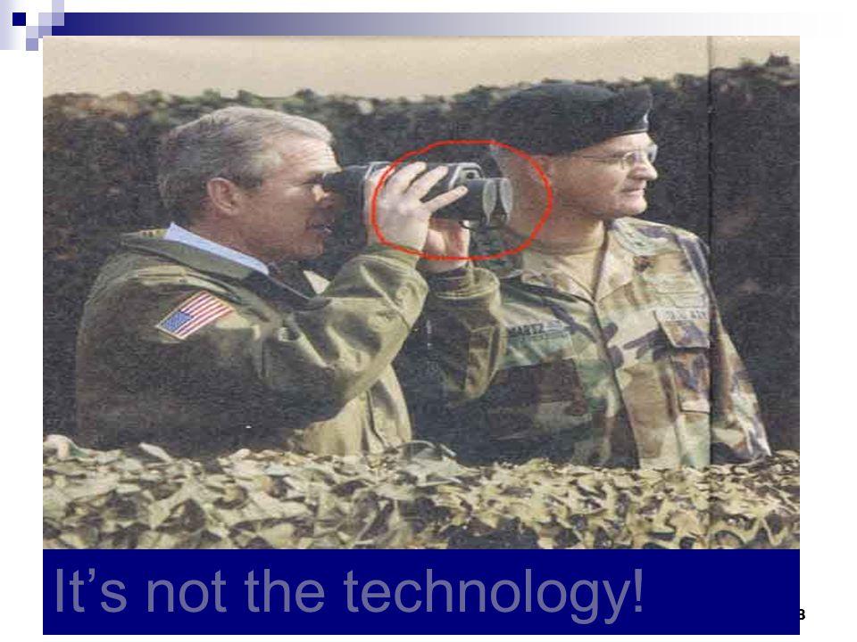ΙΑΤΡΙΚΕΣ ΣΠΟΥΔΕΣ ΣΤΟ ΑΙΓΑΙΟ - ΑΚΑΔΗΜΑΙΚΕΣ ΠΡΟΥΠΟΘΕΣΕΙΣ ΚΑΙ Ο ΡΟΛΟΣ ΤΩΝ ΦΟΡΕΩΝ ΤΟΥ ΕΣΥ38 Ρόδος, 21-22/11/2008 It's not the technology!