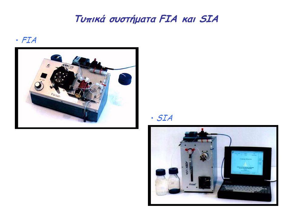 Τυπικά συστήματα FIA και SIA FIA SIA