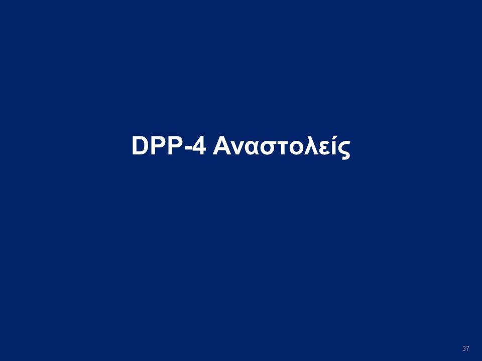 37 DPP-4 Αναστολείς