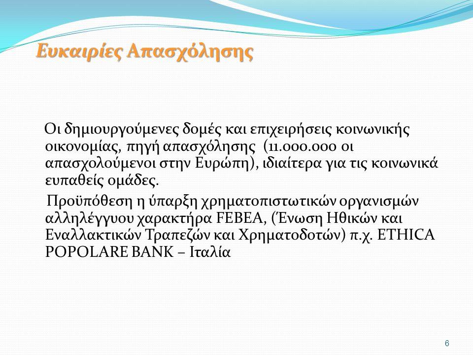 Κοινωνική Οικονομία & Κοινωνικό Κράτος (1) Οι δομές Κοινωνικής και Αλληλέγγυας Οικονομίας λειτουργούν συμπληρωματικά και δεν μπορούν να αντικαταστήσουν το ισχυρό κοινωνικό κράτος, που αποτελεί προϋπόθεση αποτελεσματικής δράσης τους.