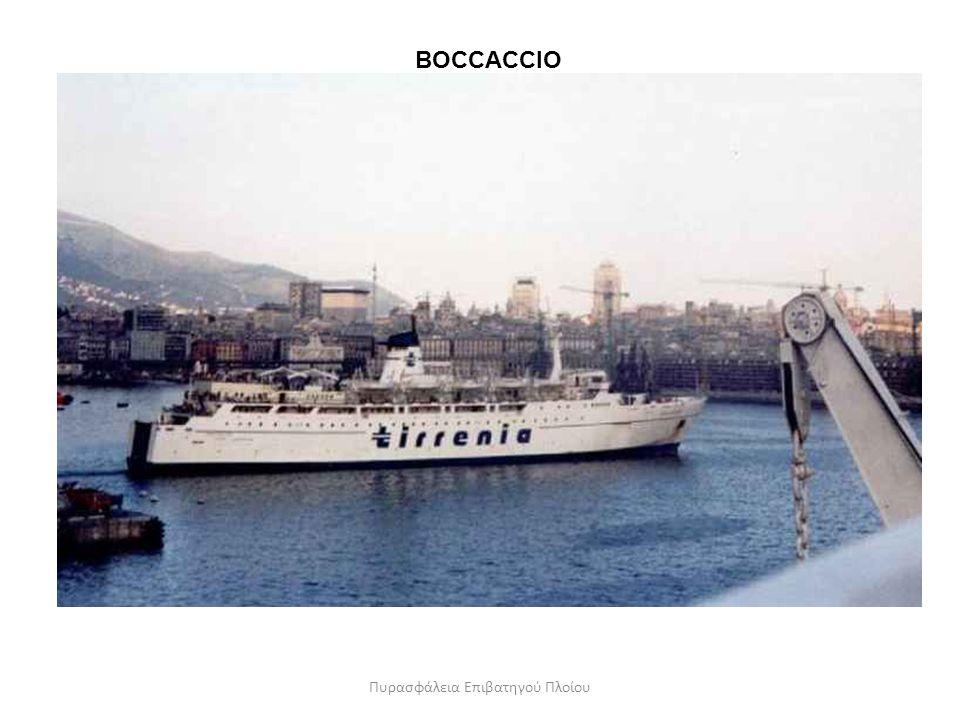 BOCCACCIO Πυρασφάλεια Επιβατηγού Πλοίου