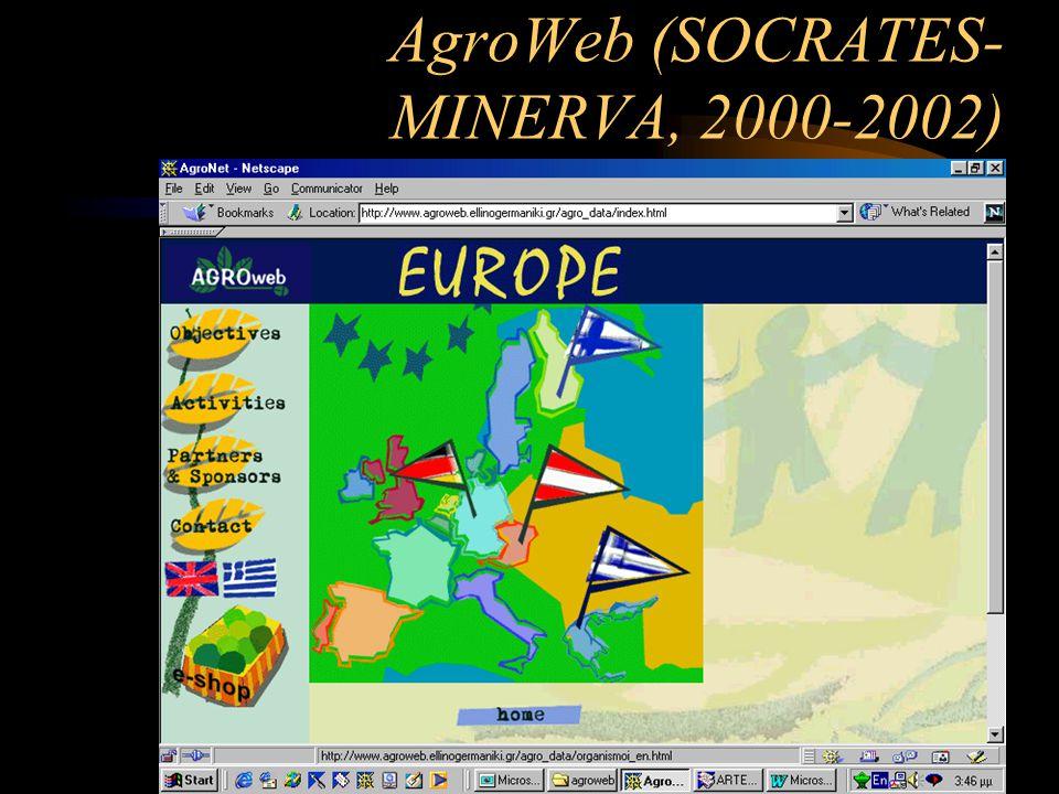 AgroWeb (SOCRATES- MINERVA, 2000-2002)