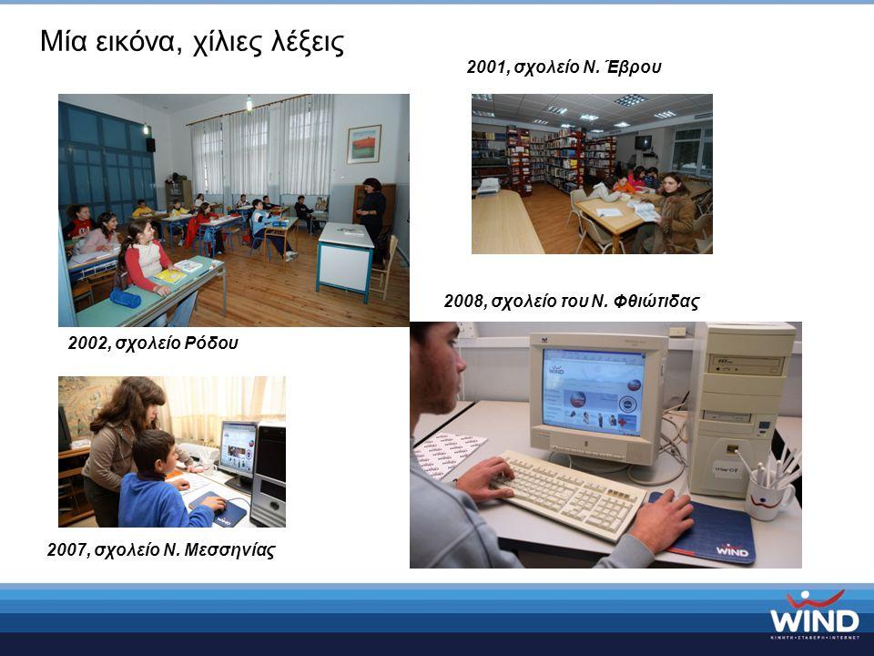 Μία εικόνα, χίλιες λέξεις 2007, σχολείο Ν. Μεσσηνίας 2001, σχολείο Ν.