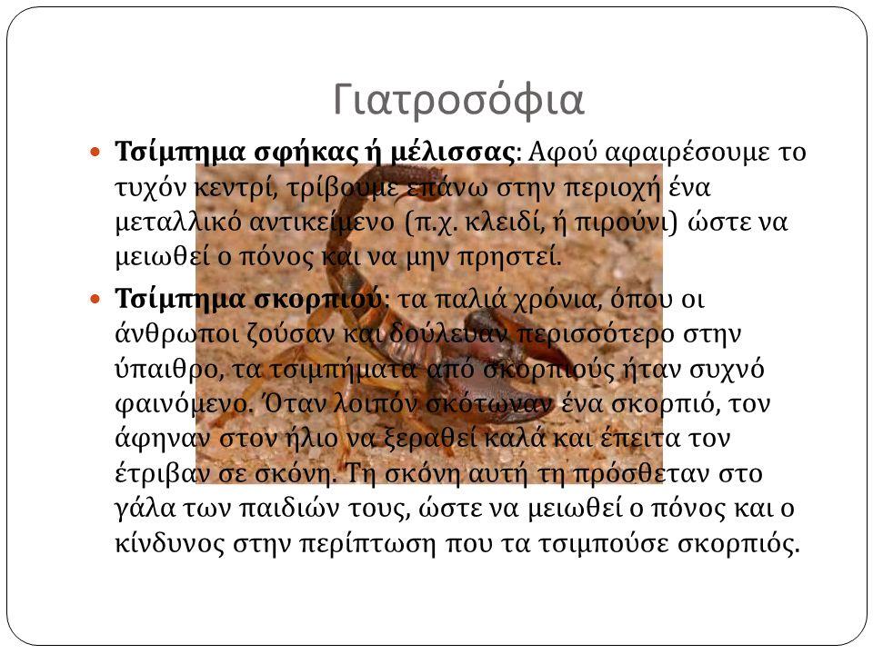 Είναι γνωστή η προσήλωση του ελληνικού λαού στα κάθε λογής φυλαχτά, που η χρήση τους έχει πολύ μεγάλη διάδοση σ ' ολόκληρη την Ελλάδα.