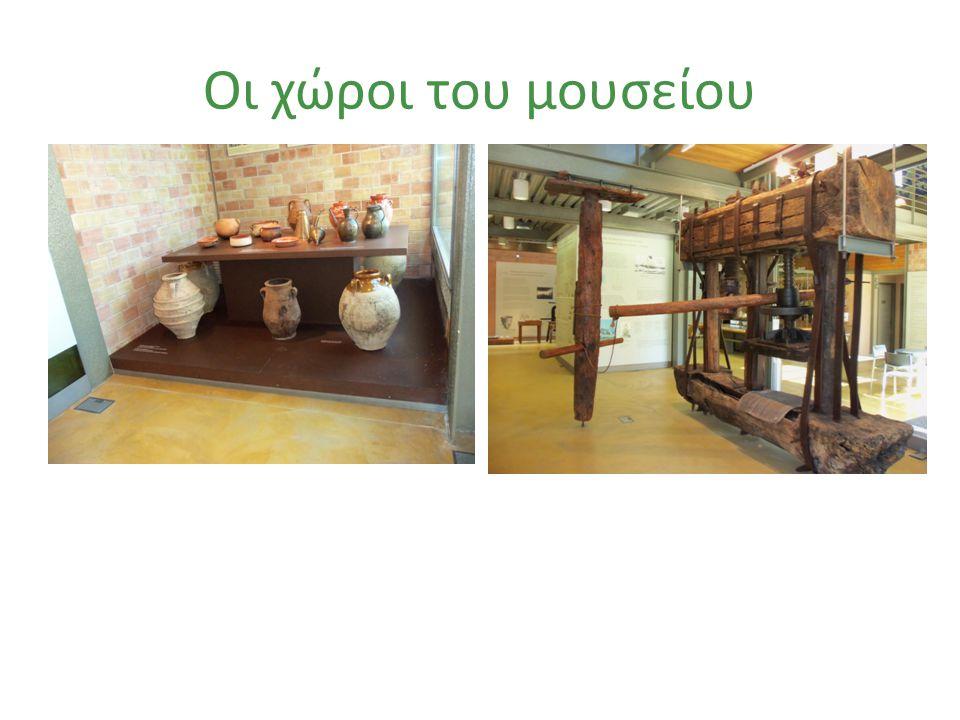 Οι χώροι του μουσείου