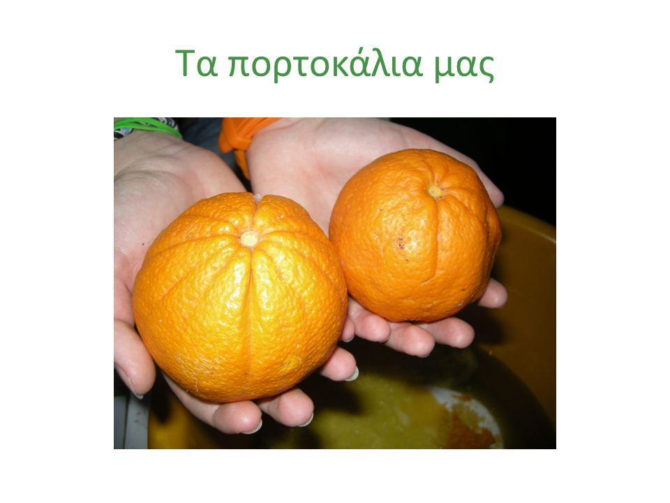 Χυμός από φρέσκο πορτοκάλι
