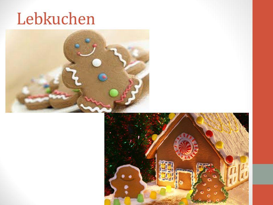 Στη Γερμανία το διάστημα που προηγείται των Χριστουγέννων είναι πολύ σημαντικό. Για τις οικογένειες τα χριστουγεννιάτικα μπισκότα (Lebkuchen), το χρισ