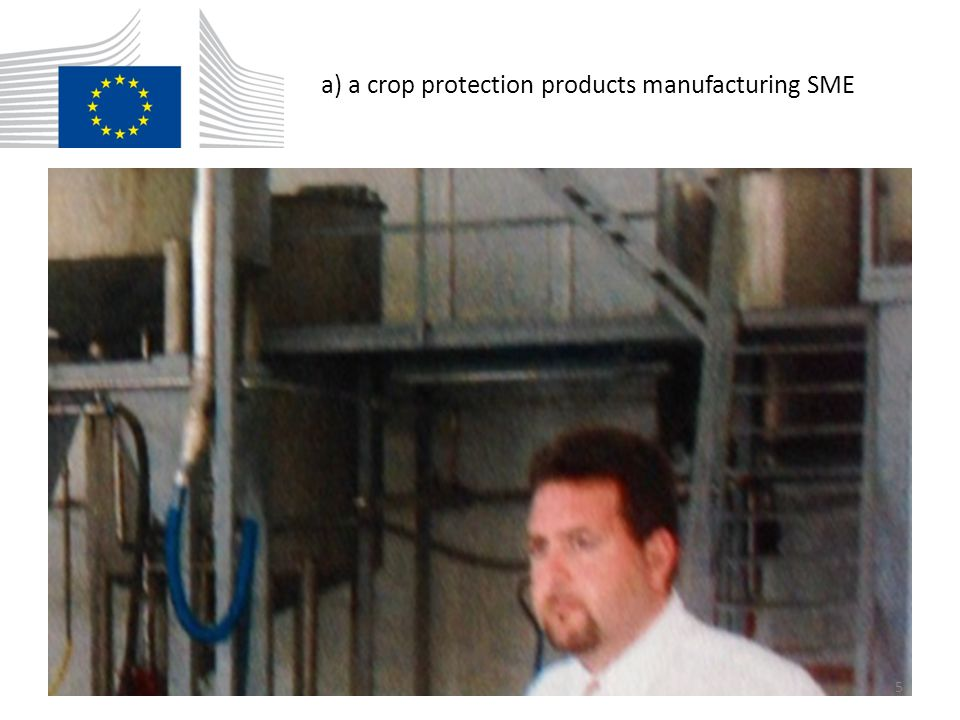 a) a crop protection products manufacturing SME 5