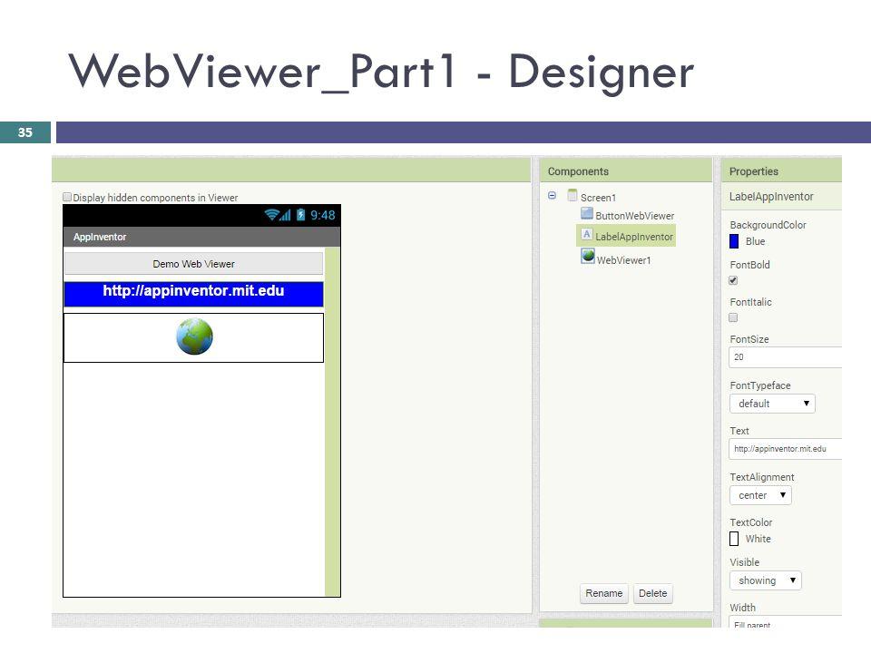 WebViewer_Part1 - Designer 35