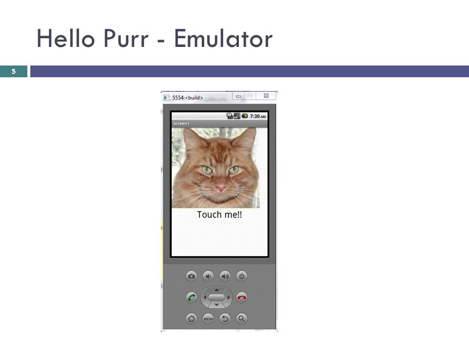 Hello Purr - Emulator 5