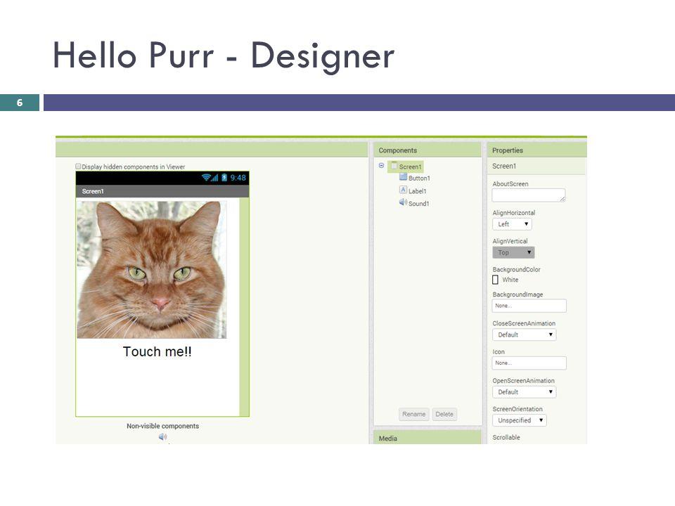 Hello Purr - Designer 6