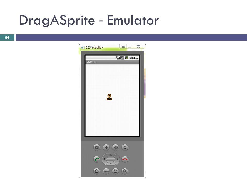 DragASprite - Emulator 64