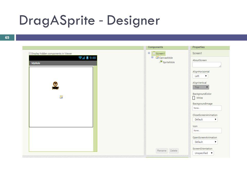 DragASprite - Designer 65