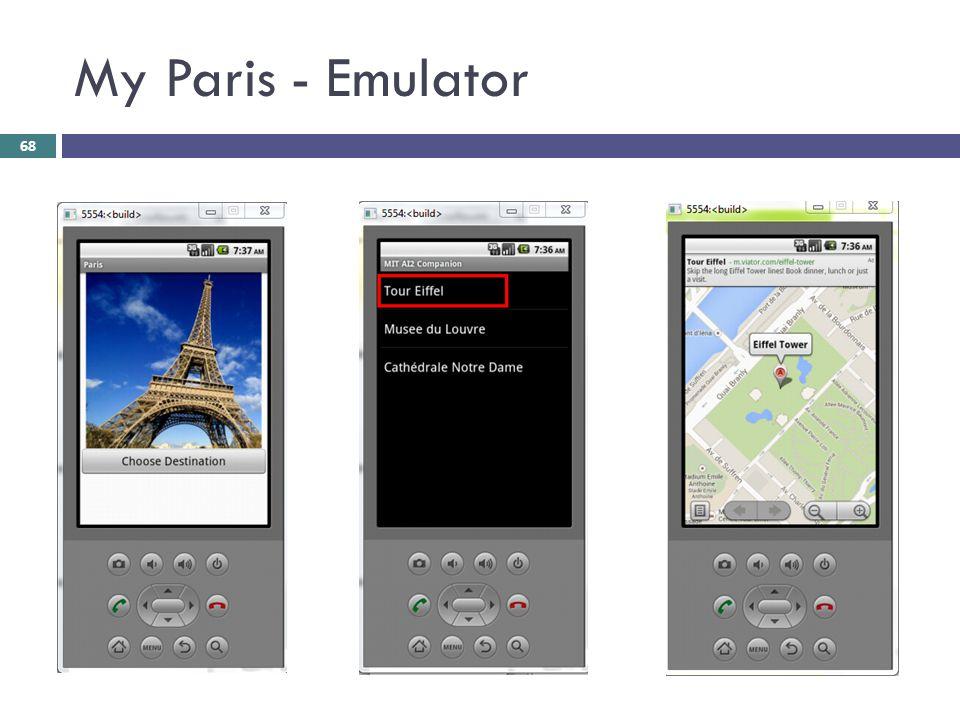 My Paris - Emulator 68