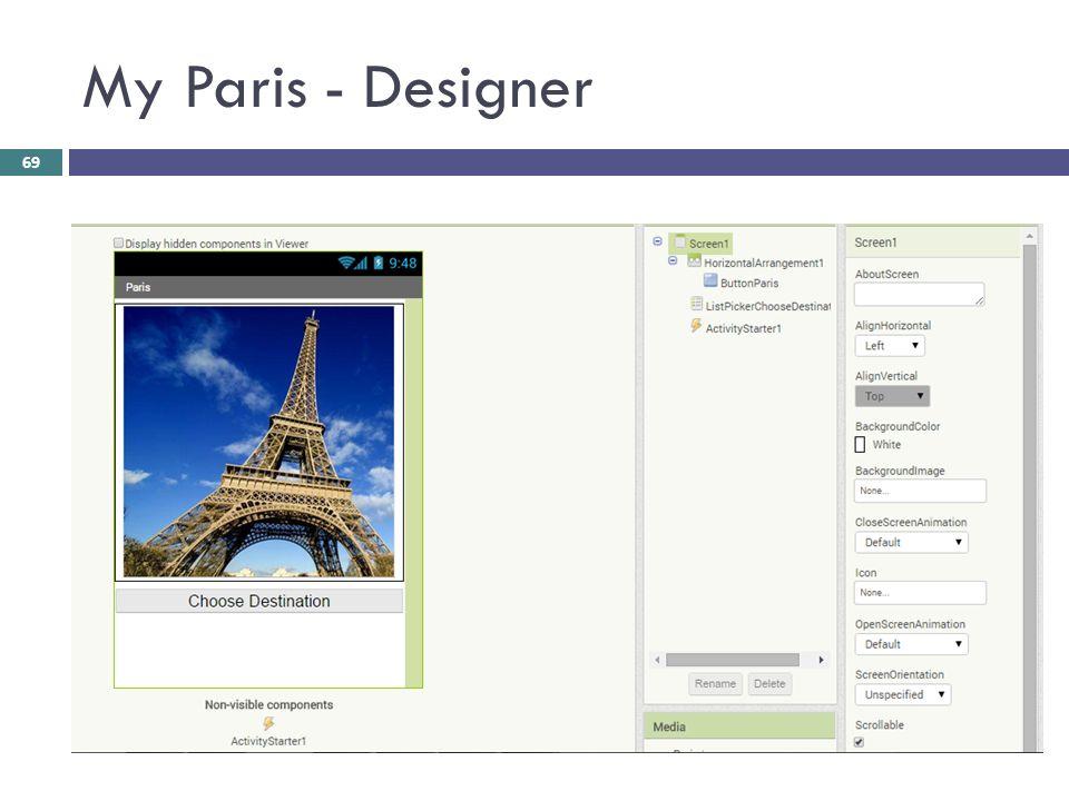 My Paris - Designer 69