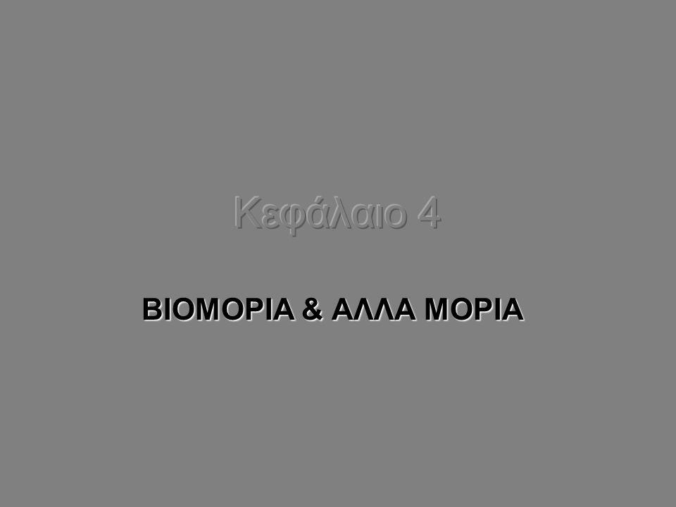ΒΙΟΜΟΡΙΑ & ΑΛΛΑ ΜΟΡΙΑ