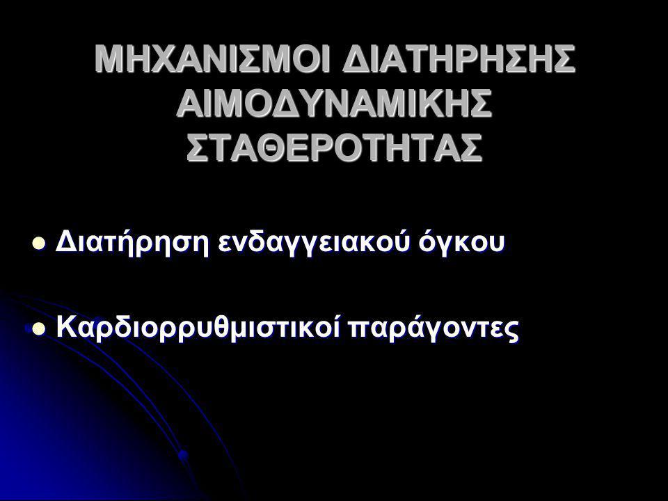 ΔΙΑΤΗΡΗΣΗ ΕΝΔΑΓΓΕΙΑΚΟΥ ΟΓΚΟΥ 1.