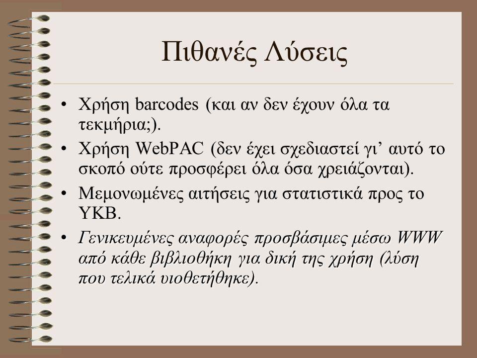 21/11/2001 Που θα βρείτε τις αναφορές; http://optasia.lib.uoa.gr/libasp/services.asp