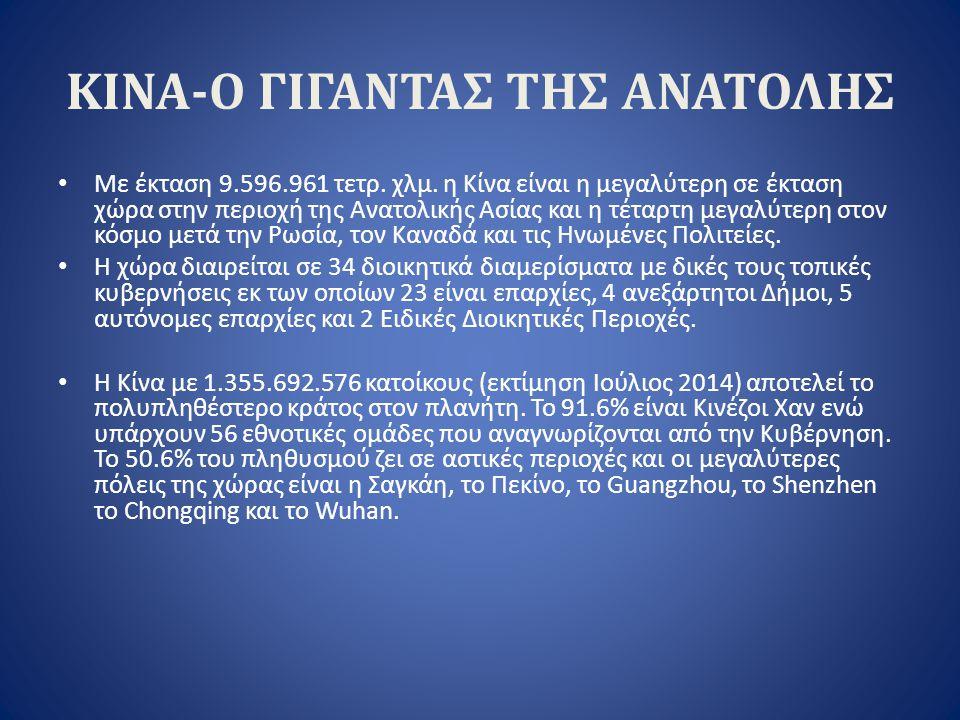 ΠΡΟΒΛΗΜΑΤΑ Σφετερισμός ελληνικών ονομασιών προέλευσης και εμπορικών σημάτων από Κινεζικές και ξένες εταιρίες με δραστηριότητα στην Κίνα.