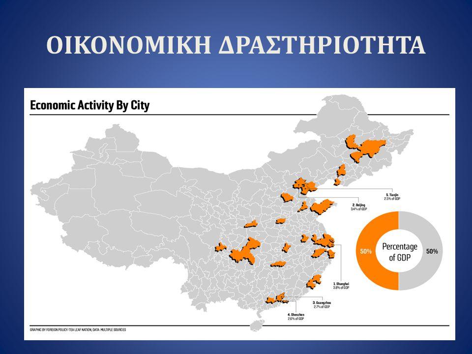 ΠΡΟΟΠΤΙΚΕΣ Η Ελλάδα, στην παρούσα συγκυρία, δείχνει να έχει συγκριτικό πλεονέκτημα έναντι της Κίνας, κυρίως, στην εξαγωγή τροφίμων και ποτών, ορυκτών (κυρίως μάρμαρα) και ακατέργαστων ή ημικατεργασμένων υλών (απορρίμματα μετάλλων, χαρτοπολτός, δέρματα).