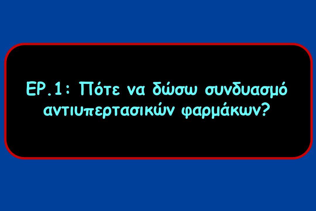 ΜΟΝΟΘΕΡΑΠΕΙΑ VS ΘΕΡΑΠΕΙΑ ΣΥΝΔΥΑΣΜΟΥ ΦΑΡΜΑΚΩΝ